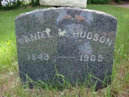 HUDSON, DANIEL M - Saratoga County, New York | DANIEL M HUDSON - New York Gravestone Photos
