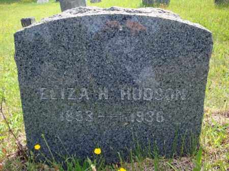 HUDSON, ELIZA H - Saratoga County, New York   ELIZA H HUDSON - New York Gravestone Photos