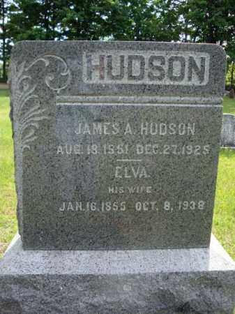 HUDSON, ELVA - Saratoga County, New York | ELVA HUDSON - New York Gravestone Photos