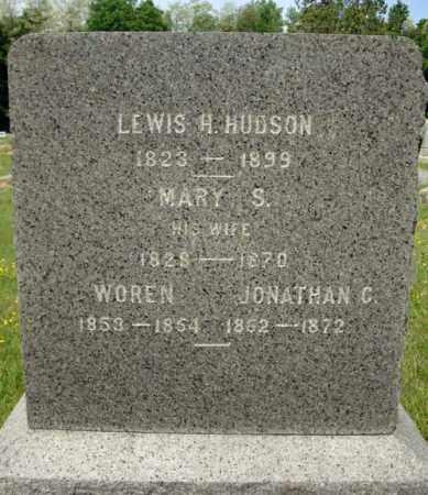 HUDSON, MARY S - Saratoga County, New York | MARY S HUDSON - New York Gravestone Photos