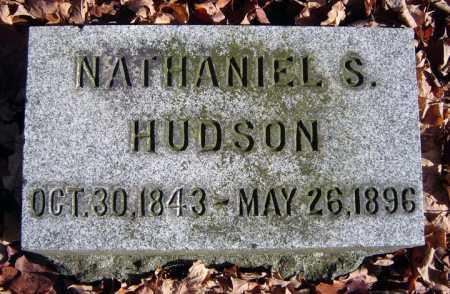 HUDSON, NATHANIEL S - Saratoga County, New York | NATHANIEL S HUDSON - New York Gravestone Photos