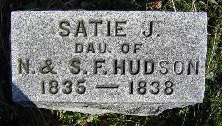 HUDSON, SATIE J - Saratoga County, New York | SATIE J HUDSON - New York Gravestone Photos
