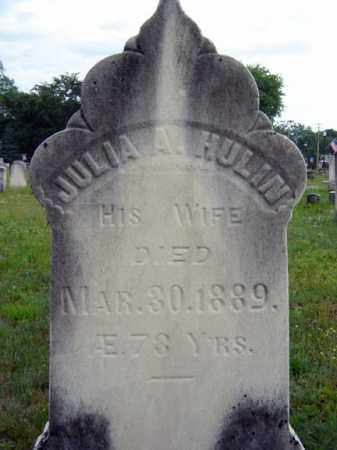 HULIN, JULIA A - Saratoga County, New York | JULIA A HULIN - New York Gravestone Photos