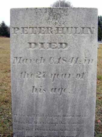 HULIN, PETER - Saratoga County, New York   PETER HULIN - New York Gravestone Photos