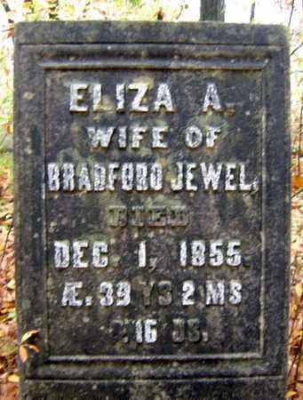 JEWEL, ELIZA A - Saratoga County, New York | ELIZA A JEWEL - New York Gravestone Photos
