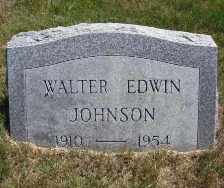 JOHNSON, WALTER EDWIN - Saratoga County, New York | WALTER EDWIN JOHNSON - New York Gravestone Photos