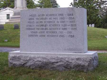 KENDRICK, ASHLEY WASHBURN - Saratoga County, New York | ASHLEY WASHBURN KENDRICK - New York Gravestone Photos