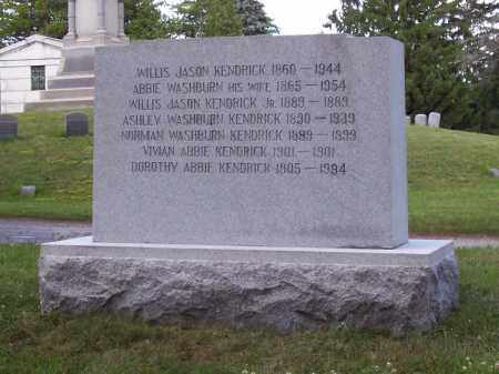 KENDRICK, WILLIS JASON - Saratoga County, New York | WILLIS JASON KENDRICK - New York Gravestone Photos