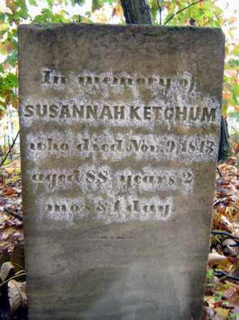 KETCHUM, SUSANNAH - Saratoga County, New York | SUSANNAH KETCHUM - New York Gravestone Photos