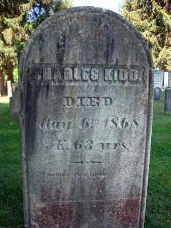KIDD, CHARLES - Saratoga County, New York | CHARLES KIDD - New York Gravestone Photos