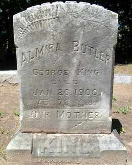 BUTLER, ALMIRA - Saratoga County, New York | ALMIRA BUTLER - New York Gravestone Photos