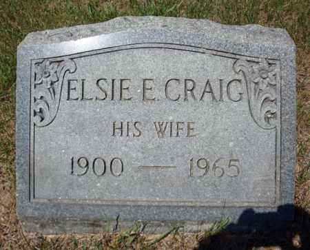 CRAIG, ELSIE E - Saratoga County, New York | ELSIE E CRAIG - New York Gravestone Photos