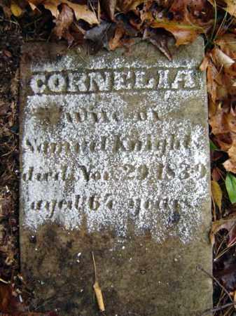 KNIGHT, CORNELIA - Saratoga County, New York | CORNELIA KNIGHT - New York Gravestone Photos