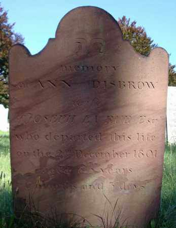 DISBROW LARUE, ANN - Saratoga County, New York | ANN DISBROW LARUE - New York Gravestone Photos
