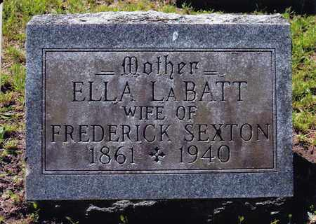 LA BATT SEXTON, HELEN - Saratoga County, New York | HELEN LA BATT SEXTON - New York Gravestone Photos