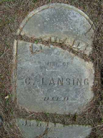 LANSING, ABIGAIL - Saratoga County, New York | ABIGAIL LANSING - New York Gravestone Photos