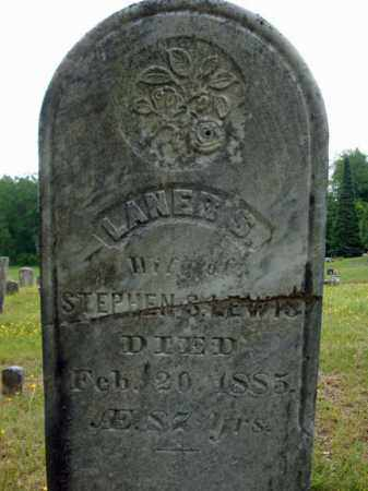 LEWIS, LANER S - Saratoga County, New York | LANER S LEWIS - New York Gravestone Photos