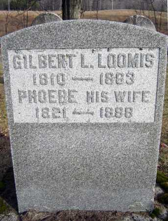 LOOMIS, PHOEBE - Saratoga County, New York | PHOEBE LOOMIS - New York Gravestone Photos