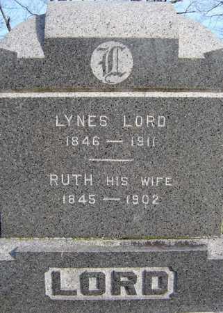 LORD, RUTH - Saratoga County, New York | RUTH LORD - New York Gravestone Photos