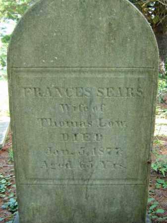 LOW, FRANCES - Saratoga County, New York | FRANCES LOW - New York Gravestone Photos