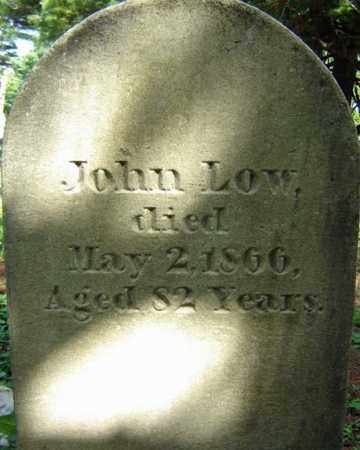 LOW, JOHN - Saratoga County, New York | JOHN LOW - New York Gravestone Photos
