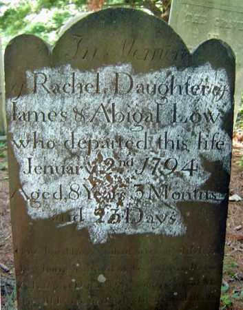 LOW, RACHEL - Saratoga County, New York   RACHEL LOW - New York Gravestone Photos