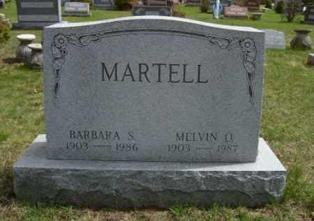MARTELL, MELVIN - Saratoga County, New York | MELVIN MARTELL - New York Gravestone Photos