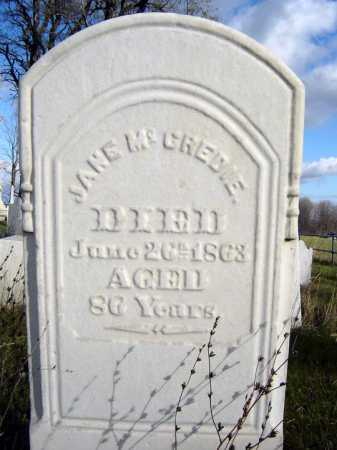 MCCREDIE, JANE - Saratoga County, New York | JANE MCCREDIE - New York Gravestone Photos