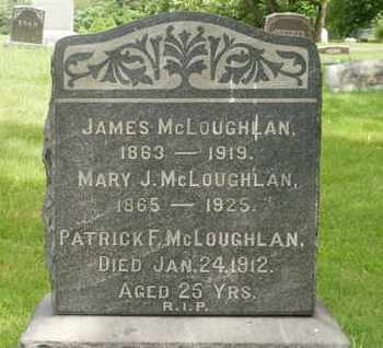 LOOBY MCLOUGHLAN, MARY J - Saratoga County, New York | MARY J LOOBY MCLOUGHLAN - New York Gravestone Photos