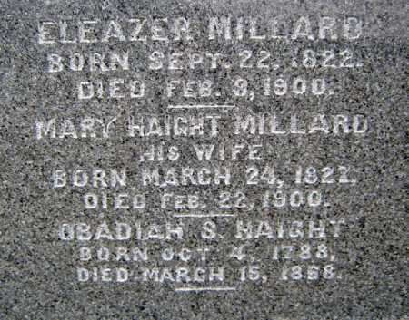 MILLARD, MARY - Saratoga County, New York | MARY MILLARD - New York Gravestone Photos