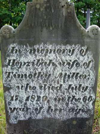 MILLER, HEPZIBAH - Saratoga County, New York | HEPZIBAH MILLER - New York Gravestone Photos