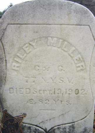 MILLER, RILEY - Saratoga County, New York | RILEY MILLER - New York Gravestone Photos