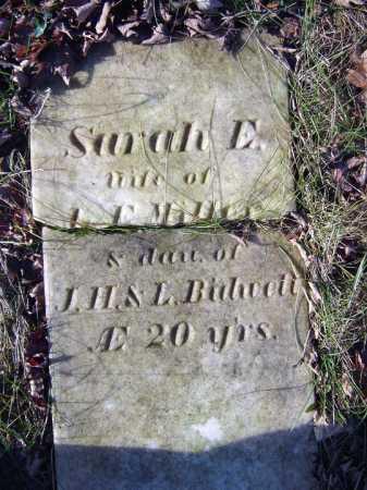 MILLER, SARAH E - Saratoga County, New York | SARAH E MILLER - New York Gravestone Photos