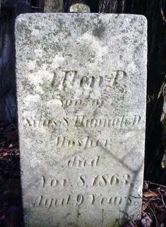MOSHER, ALLEN P - Saratoga County, New York | ALLEN P MOSHER - New York Gravestone Photos