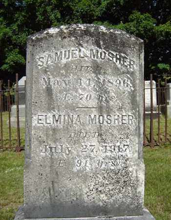 MOSHER, SAMUEL - Saratoga County, New York   SAMUEL MOSHER - New York Gravestone Photos