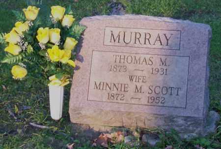 SCOTT MURRAY, MINNIE M - Saratoga County, New York | MINNIE M SCOTT MURRAY - New York Gravestone Photos