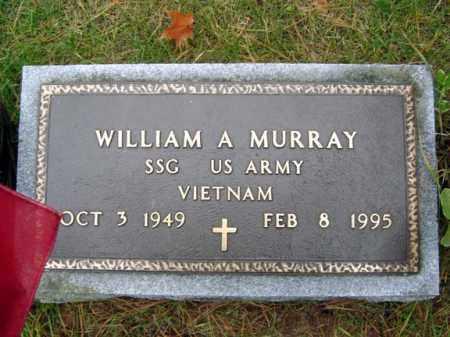 MURRAY (VN), WILLIAM A - Saratoga County, New York | WILLIAM A MURRAY (VN) - New York Gravestone Photos