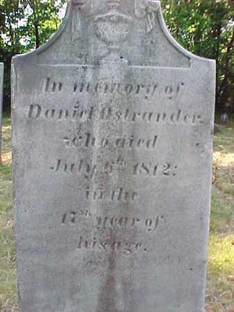 OSTRANDER, DANIEL - Saratoga County, New York | DANIEL OSTRANDER - New York Gravestone Photos