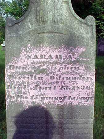 OSTRANDER, SARAH A - Saratoga County, New York | SARAH A OSTRANDER - New York Gravestone Photos