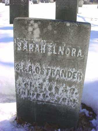 OSTRANDER, SARAH ELNORA - Saratoga County, New York | SARAH ELNORA OSTRANDER - New York Gravestone Photos