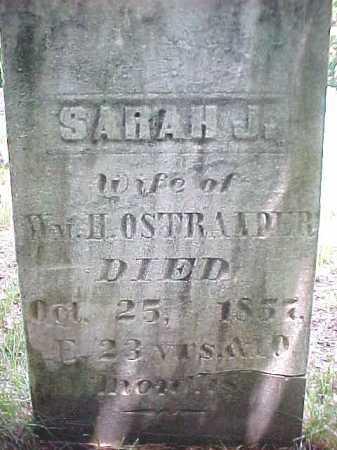 OSTRANDER, SARAH J - Saratoga County, New York   SARAH J OSTRANDER - New York Gravestone Photos