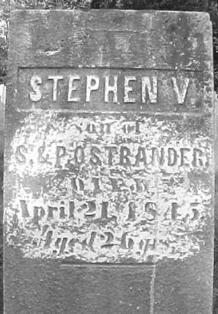 OSTRANDER, STEPHEN V - Saratoga County, New York   STEPHEN V OSTRANDER - New York Gravestone Photos