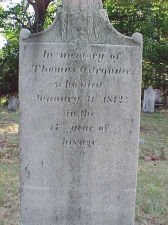 OSTRANDER, THOMAS - Saratoga County, New York   THOMAS OSTRANDER - New York Gravestone Photos