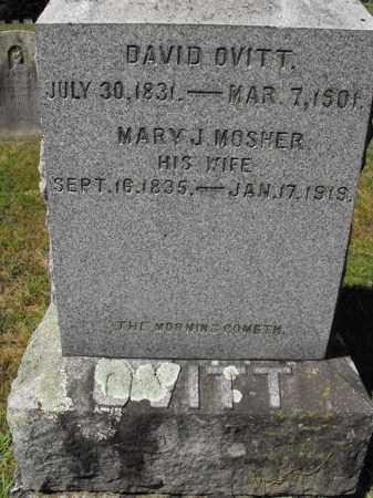 OVITT, MARY JANE - Saratoga County, New York | MARY JANE OVITT - New York Gravestone Photos