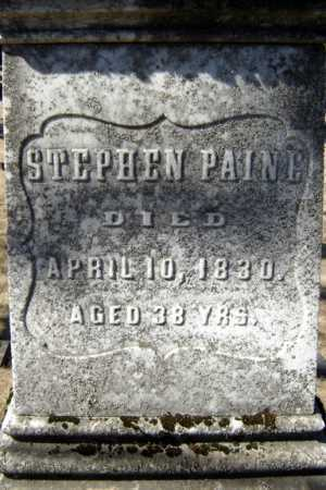 PAINE, STEPHEN BUNNELL - Saratoga County, New York | STEPHEN BUNNELL PAINE - New York Gravestone Photos