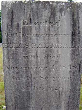 PALMER, ELIAS - Saratoga County, New York | ELIAS PALMER - New York Gravestone Photos