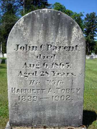 PARENT, HARRIETT A - Saratoga County, New York | HARRIETT A PARENT - New York Gravestone Photos