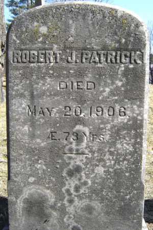 PATRICK, ROBERT J - Saratoga County, New York | ROBERT J PATRICK - New York Gravestone Photos