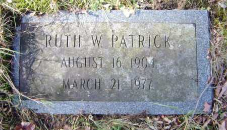 PATRICK, RUTH W - Saratoga County, New York | RUTH W PATRICK - New York Gravestone Photos
