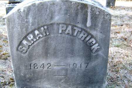 PATRICK, SARAH - Saratoga County, New York | SARAH PATRICK - New York Gravestone Photos